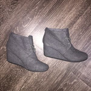 Call It Spring Grey Booties, Size 6